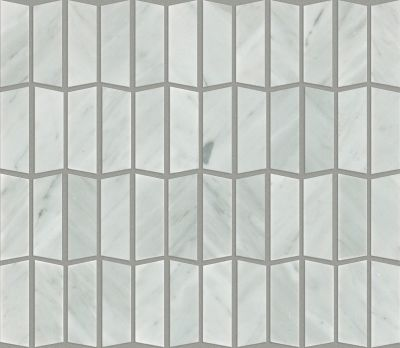Shaw Floors Ceramic Solutions Chateau Trapezo Bianco Carrara 00150_CS20X