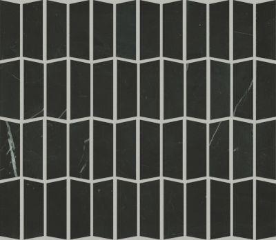 Shaw Floors Ceramic Solutions Chateau Trapezo Nero Marquina 00900_CS20X