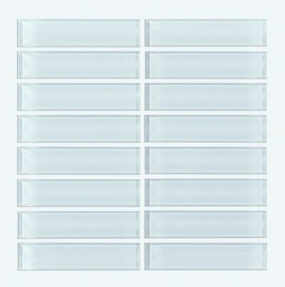 Shaw Floors Ceramic Solutions Cardinal Stacked Glass Mosaic Skylight 00150_CS20Z