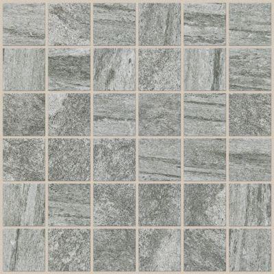 Shaw Floors Ceramic Solutions Crystal Mosaics Dark Grey 00550_CS25W