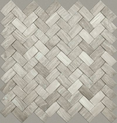 Shaw Floors Ceramic Solutions Chateau Woven Mosaic Rockwood 00500_CS25X