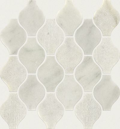 Shaw Floors Ceramic Solutions Boca Ornament Whitewater 00100_CS27X