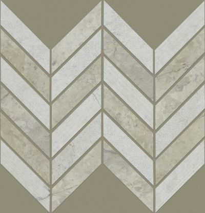 Shaw Floors Ceramic Solutions Boca Chevron Thala Gray 00510_CS29X