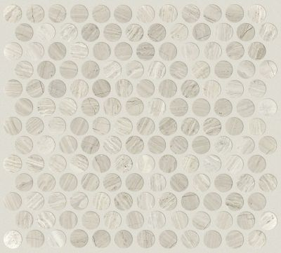 Shaw Floors Ceramic Solutions Chateau Penny Round Mosaic Rockwood 00500_CS29Z