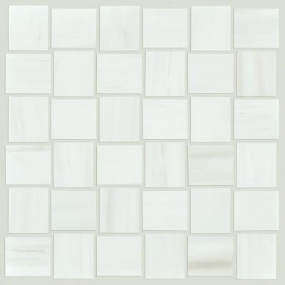 Shaw Floors Ceramic Solutions Range Mosaic Polished Bianco 00150_CS33Z