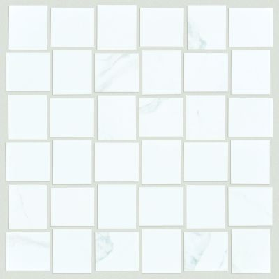Shaw Floors Ceramic Solutions Range Mosaic Polished Statuario 00151_CS33Z