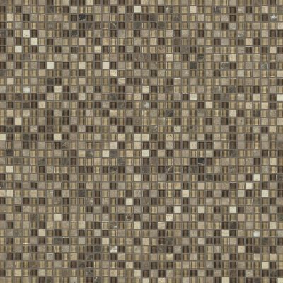 Shaw Floors Ceramic Solutions Awesome Mix 5/8's Mosaic Cappuccino 00700_CS36X