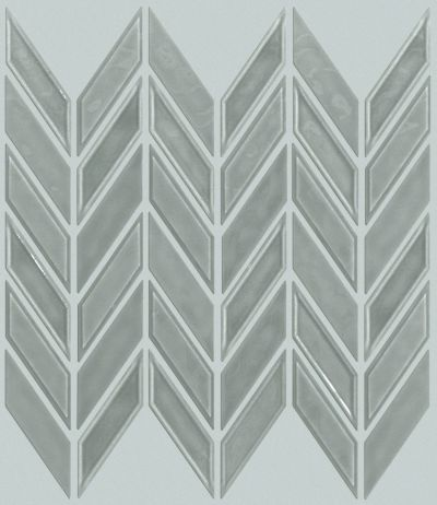 Shaw Floors Ceramic Solutions Geoscape Chevron Light Grey 00500_CS46X