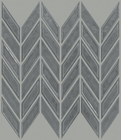 Shaw Floors Ceramic Solutions Geoscapes Chevron Dark Grey 00550_CS46X