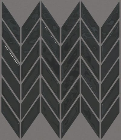 Shaw Floors Ceramic Solutions Geoscapes Chevron Black 00555_CS46X
