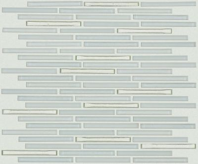 Shaw Floors Ceramic Solutions Molten Linear Glass Platinum 00150_CS53V