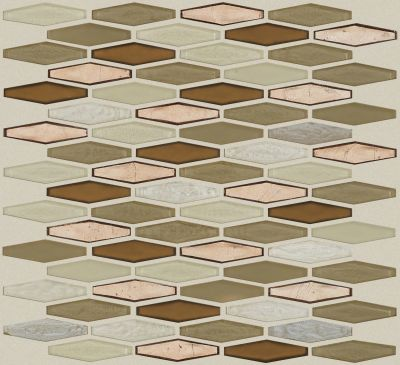 Shaw Floors Ceramic Solutions Molten Stretch Hexagon Glass Penny 00600_CS54V