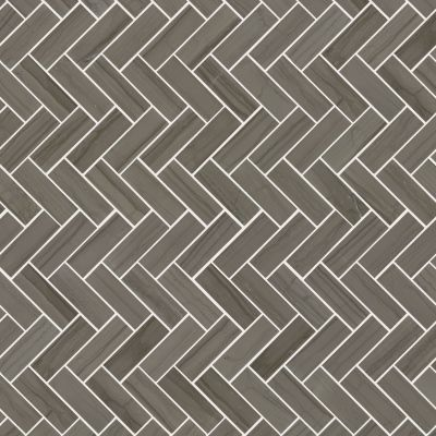 Shaw Floors Ceramic Solutions Chateau Herringbone Mosaic Urban Grey 00570_CS57P
