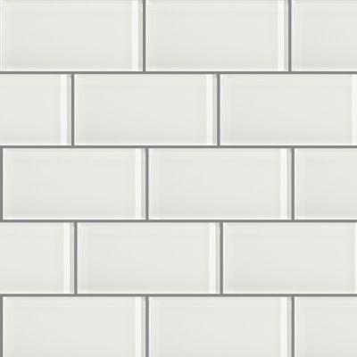 Shaw Floors Ceramic Solutions Glass Essentials 3×6 Crystal 00100_CS58J