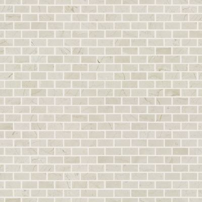 Shaw Floors Ceramic Solutions Chateau Mini Brick Mosaic Crema Marfil 00200_CS59P
