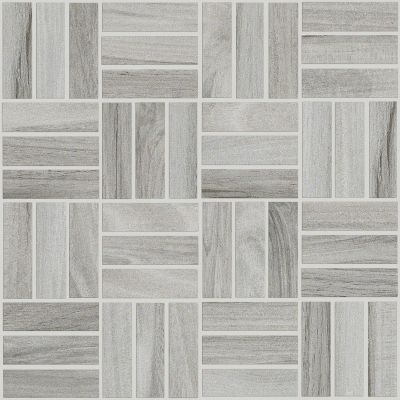 Shaw Floors Ceramic Solutions Voyage Mosaic Grey 00500_CS59Q