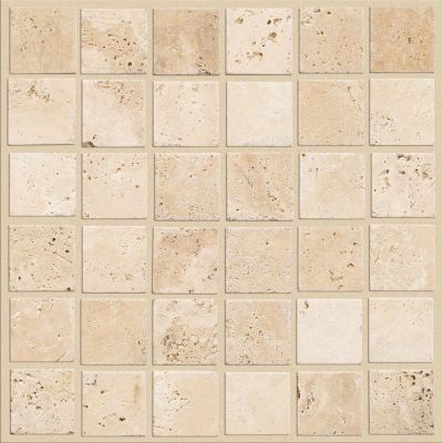 Shaw Floors Ceramic Solutions Turnbury 2×2 Mosaic Ivory 00200_CS77H