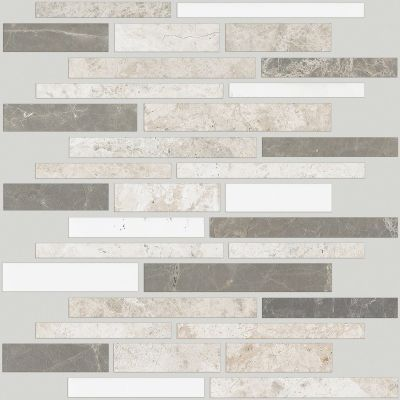 Shaw Floors Ceramic Solutions Boca Random Linear Mosaic Jetty 00151_CS77M
