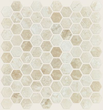 Shaw Floors SFA Hampton Hex Honed Mosaic Impero Reale 00200_SA05A