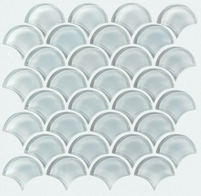 Shaw Floors SFA Paramount Fan Glass Mosaic Cloud 00500_SA14A