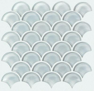 Shaw Floors SFA Paramount Fan Glass Mosaic Cloud 00500_SA14A