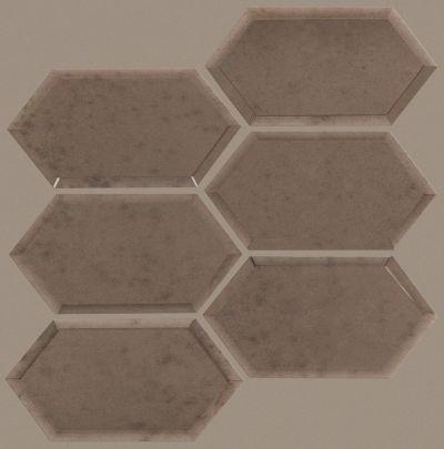Shaw Floors SFA Vulcan Hex Mosaic Antique Bronze 00600_SA28A