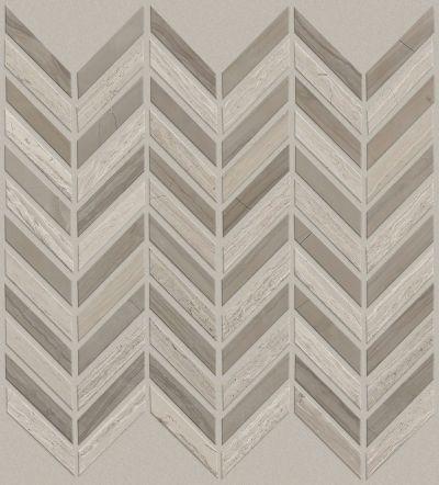 Shaw Floors SFA Pearl Chevron Mosaic Rockwood/Urban Grey 00555_SA31A