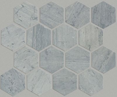Shaw Floors SFA Pearl Mosaic Hex Blue Grigio 00550_SA33A
