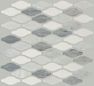Shaw Floors SFA Pearl Ornament Mosaic Bianco C Blue G Thas 00511_SA36A
