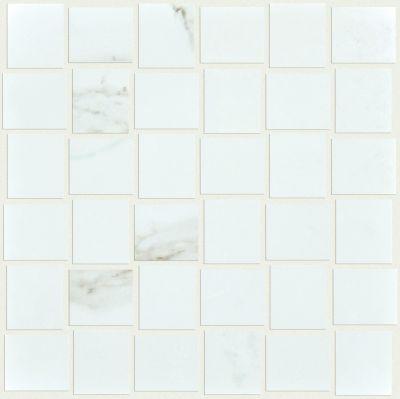 Shaw Floors SFA Vision Polished Mosaic Calacatta 00121_SA957