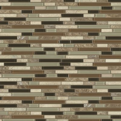 Shaw Floors SFA Marvelous Mix Linear Mosaic Bamboo 00210_SA987