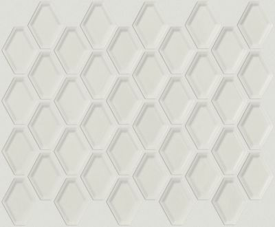 Shaw Floors SFA Dignity Beveled Diamond Mosaic Warm Grey 00500_SA993