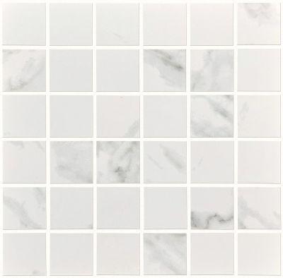 Shaw Floors Home Fn Gold Ceramic Infinity Mosaic Calacatta 00120_TG12E