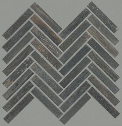 Shaw Floors Charwood Herringbone Mosaic Carbon 00571_TG30D