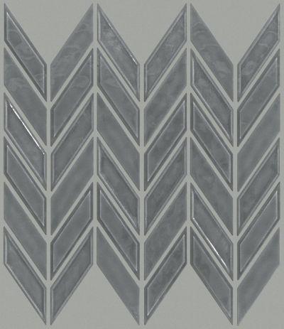 Shaw Floors Home Fn Gold Ceramic Geoscapes Chevron Dark Grey 00550_TG46C