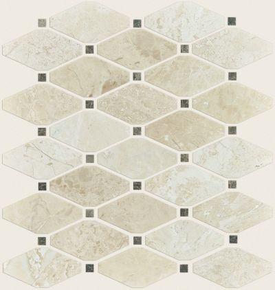 Shaw Floors Home Fn Gold Ceramic Hamptons Diamond Honed Mosaic Impero Reale 00200_TG47B