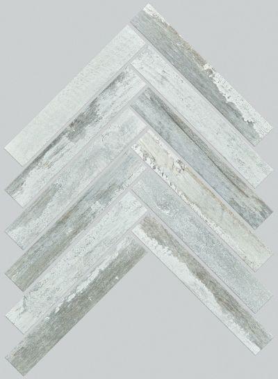 Shaw Floors Home Fn Gold Ceramic Forge Herrinbone Mosaic Titanium 00152_TG54D