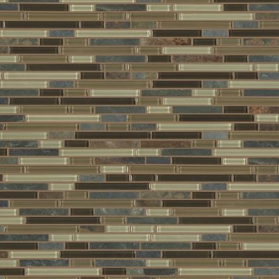 Shaw Floors Home Fn Gold Ceramic Awesome Mix Random Linear Mosi Amber Tea 00427_TG63B