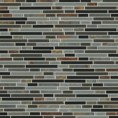 Shaw Floors Home Fn Gold Ceramic Awesome Mix Random Linear Mosi Smoky Mica 00565_TG63B