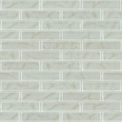 Shaw Floors Home Fn Gold Ceramic Principal 3×12 Artisan Glass Mist 00250_TG73B