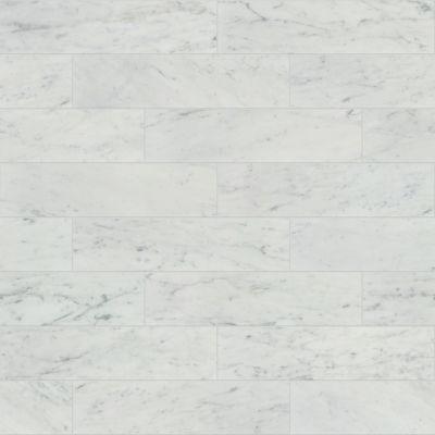 Shaw Floors Home Fn Gold Ceramic Estate 4×16 Bianco Carrara 00150_TG85B