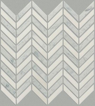 Shaw Floors Home Fn Gold Ceramic Estate Chevron Mo Biancocarrara/T 00151_TG87B