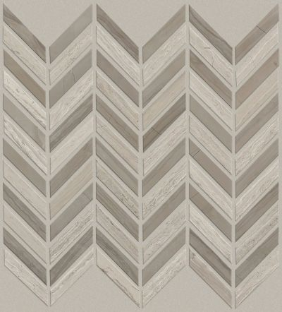 Shaw Floors Home Fn Gold Ceramic Estate Chevron Mo Rockwood/Urban Grey 00555_TG87B