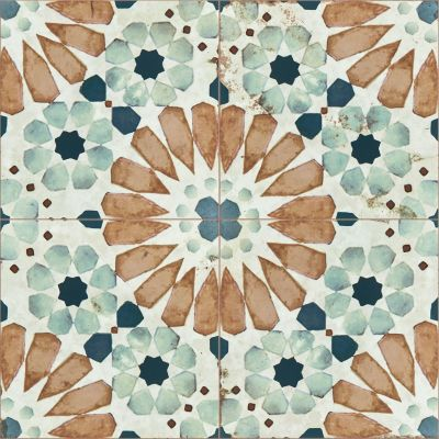 Shaw Floors Home Fn Gold Ceramic Antiqued 8×8 Garden Way 00641_TG95C