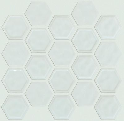 Shaw Floors Home Fn Gold Ceramic Geoscapes Hexagon Bone 00150_TGJ78