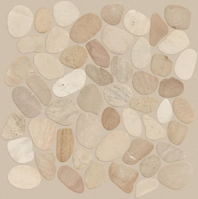 Shaw Floors Home Fn Gold Ceramic River Rock Sliced Drfiwood Tan 00200_TGL64