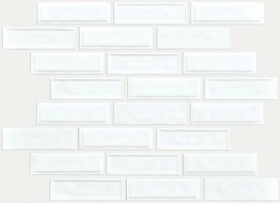 Shaw Floors Toll Brothers Ceramics Geoscapes Random Linear Mosaic White 00100_TL45C