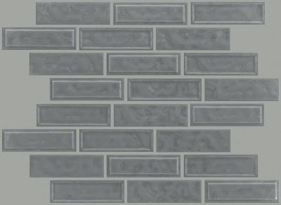Shaw Floors Toll Brothers Ceramics Geoscapes Random Linear Mosaic Dark Grey 00550_TL45C