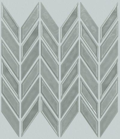 Shaw Floors Toll Brothers Ceramics Geoscapes Chevron Light Grey 00500_TL46C