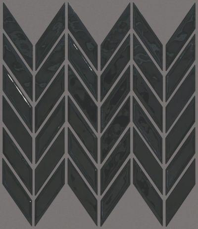 Shaw Floors Toll Brothers Ceramics Geoscapes Chevron Black 00555_TL46C